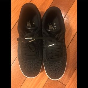 NIKE AIR FORCE 1 FLYKNIT LOW WOMAN SIZE 8.5 RARE